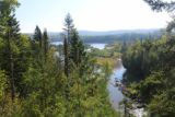 High_Falls_Pigeon_River_114_09272015 - Sometimes I had to pause and take in the nice panoramas of the Pigeon River from the Canadian side, especially given the dramatically improved weather over yesterday