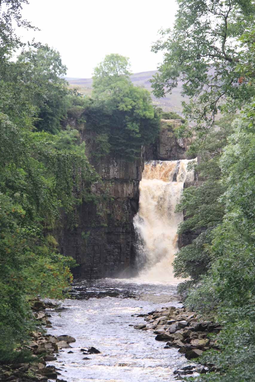 Approaching the gushing High Force