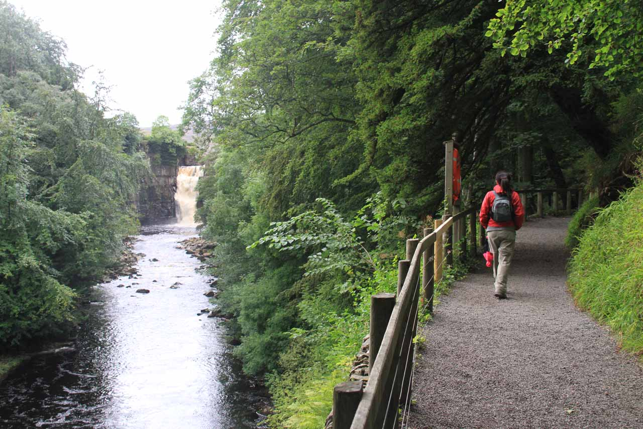 Continuing further ahead towards High Force