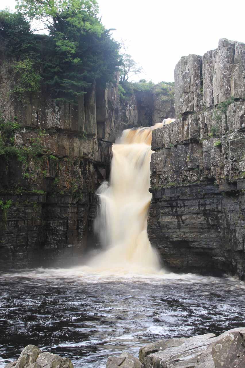 Last look at High Force before we left