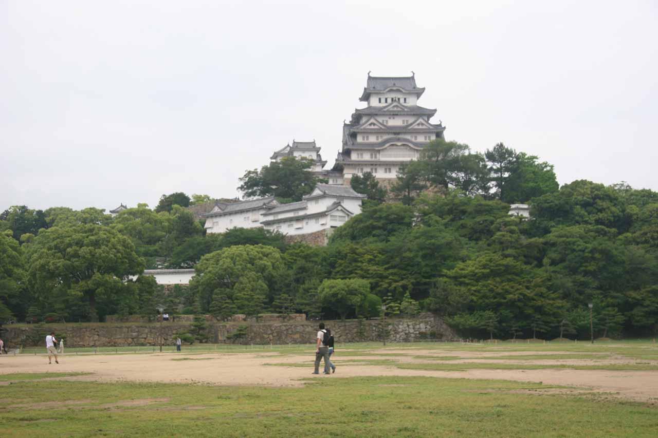 Approaching Himeiji-jo