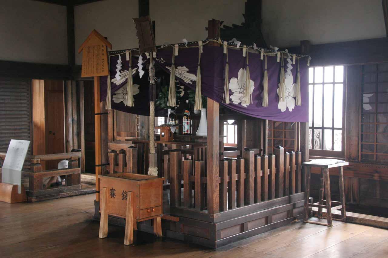 Inside Himeiji-jo