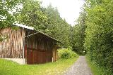 Hinanger_Waterfall_008_06242018 - Walking past this barn or mill or something en route to the Hinanger Waterfall
