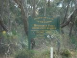 Hindmarsh_Falls_001_jx_11202006 - Sign at the car park indicating we found the right place for Hindmarsh Falls back on our November 2006 visit