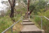 Hindmarsh_Falls_027_11132017 - Julie making her way back to the car after having her fill of Hindmarsh Falls