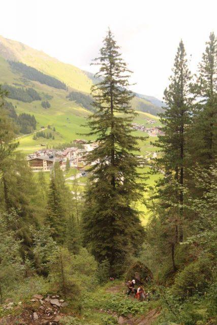 Hintertux_078_07182018 - Context of the steep climb between the Kesselfall and the Schraubenfall