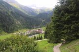Hintertux_240_07182018 - Looking back at the climbing trail as I was getting higher above the Tuxertal Valley floor and closer to the Schleierfall (though I still had a ways to go from here)