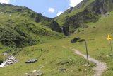 Hintertux_357_07182018 - On the final ascent towards the Schleierfall on the Weintalbach