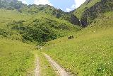 Hintertux_361_07182018 - Looking up at the trail leading directly along the Weintalbach en route to the Schleierfall