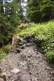 Hintertux_380_07182018 - Climbing up towards a rather steep section of the Schleierfall Trail as I continued the direct ascent to the waterfall