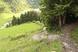 Hintertux_395_07182018 - Continuing down the steep descent at the edges of the forest as I descended from the Schleierfall back down to the Hintertux Resort Area