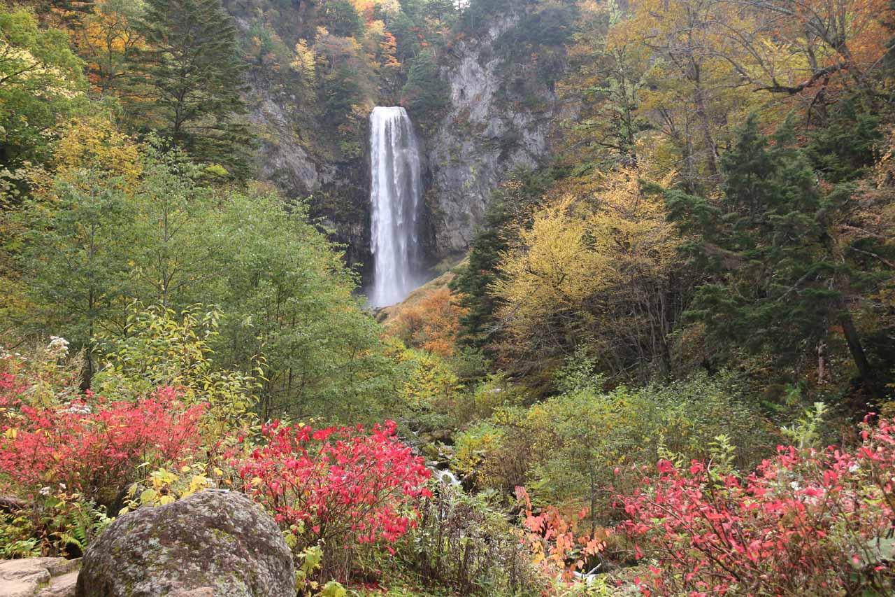 The Hirayu Waterfall
