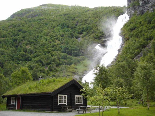 Hjellefossen_007_jx_06282005 - Hjellefossen as seen on our first trip to Norway in late June 2005