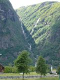 Hjolmodalen_002_jx_06252005 - Looking at a pair of converging thin waterfalls probably on the Reipo stream from back in 2005