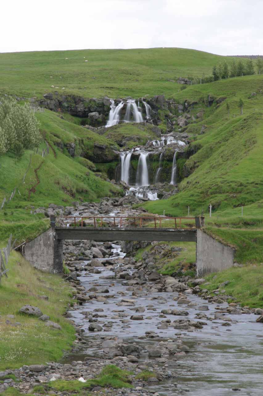 Falls at Hliðarendi
