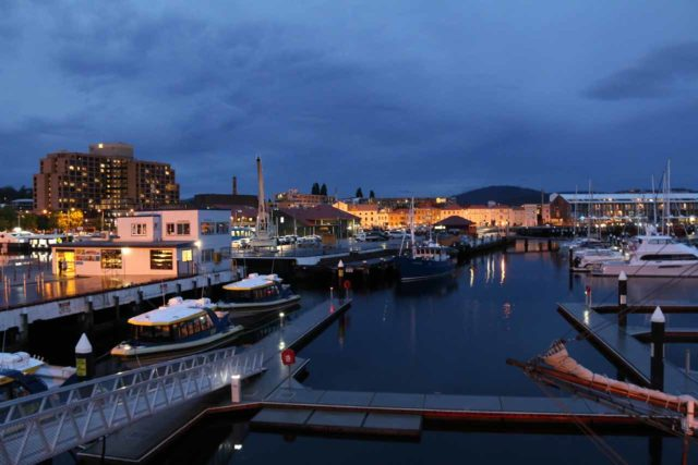 Hobart_17_160_11262017 - Hobart was a little over an hour drive from Russell Falls so we were based in this scenic harbour city each time we've visited the waterfalls