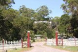 Hogarth_Falls_17_003_11282017 - The entrance to the familiar People's Park in Strahan