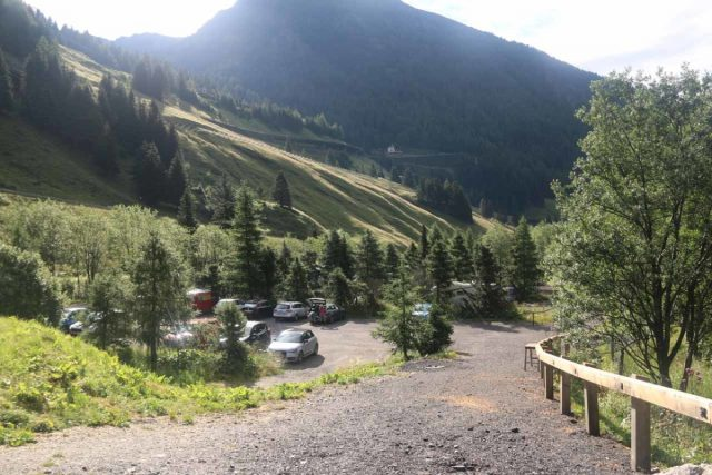 Hohe_Tauern_072_07152018 - Car park within the Gschlosstal Valley, which I think would be a gateway for longer hikes in the Nationalpark Hohe Tauern