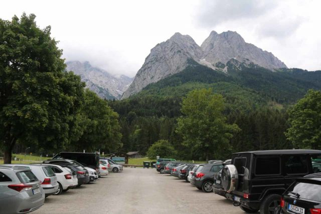Hollentalklamm_002_06262018 - This was the Wanderparkplatz Hammersbach P2 car park, which was where I started the hike for the Höllentalklamm