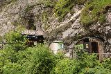 Hollentalklamm_094_06262018 - Finally approaching the remote entrance hut and cafe of the Hoellentalklamm Gorge