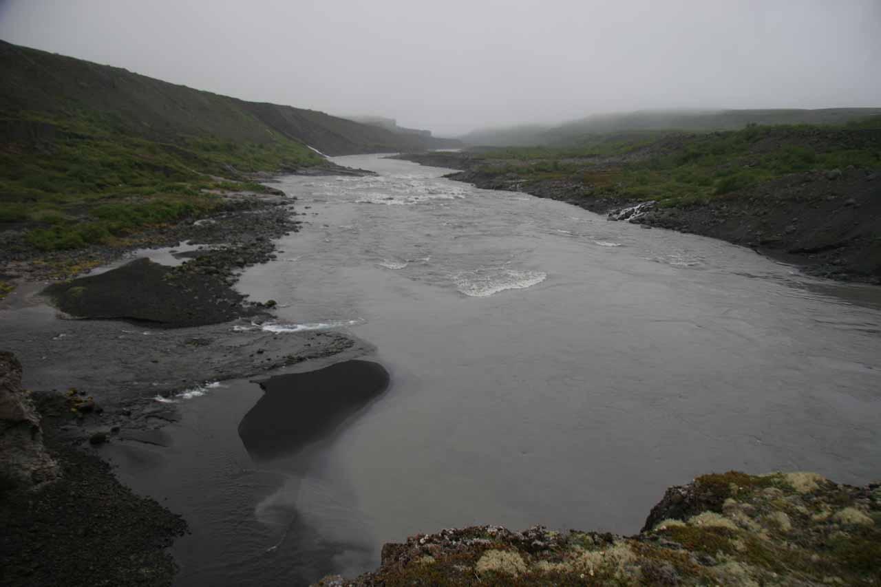Looking downstream from Katlar