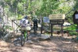 Holy_Jim_Falls_006_02142010 - Mountain bikers going past the official trailhead