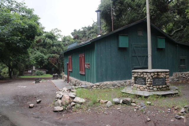 Holy_Jim_Falls_007_04102016 - The building just before the Holy Jim Falls Trailhead parking lot was actually an active fire station