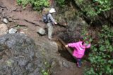 Holy_Jim_Falls_079_04102016 - Julie helping Tahia out at another stream crossing