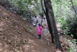 Holy_Jim_Falls_084_04102016 - Tahia almost at the Holy Jim Falls