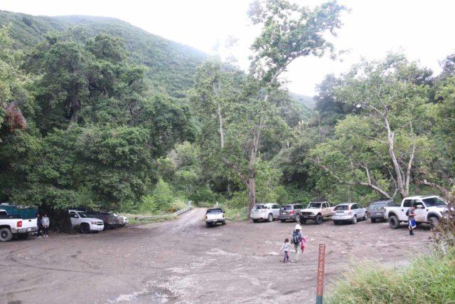 Holy_Jim_Falls_174_04102016 - The trailhead parking for the Holy Jim Falls hike