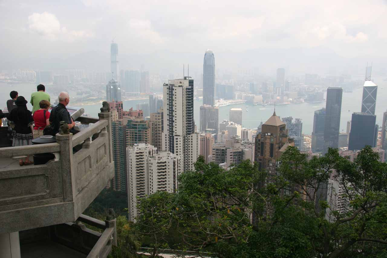 Finally made it up to Victoria Peak