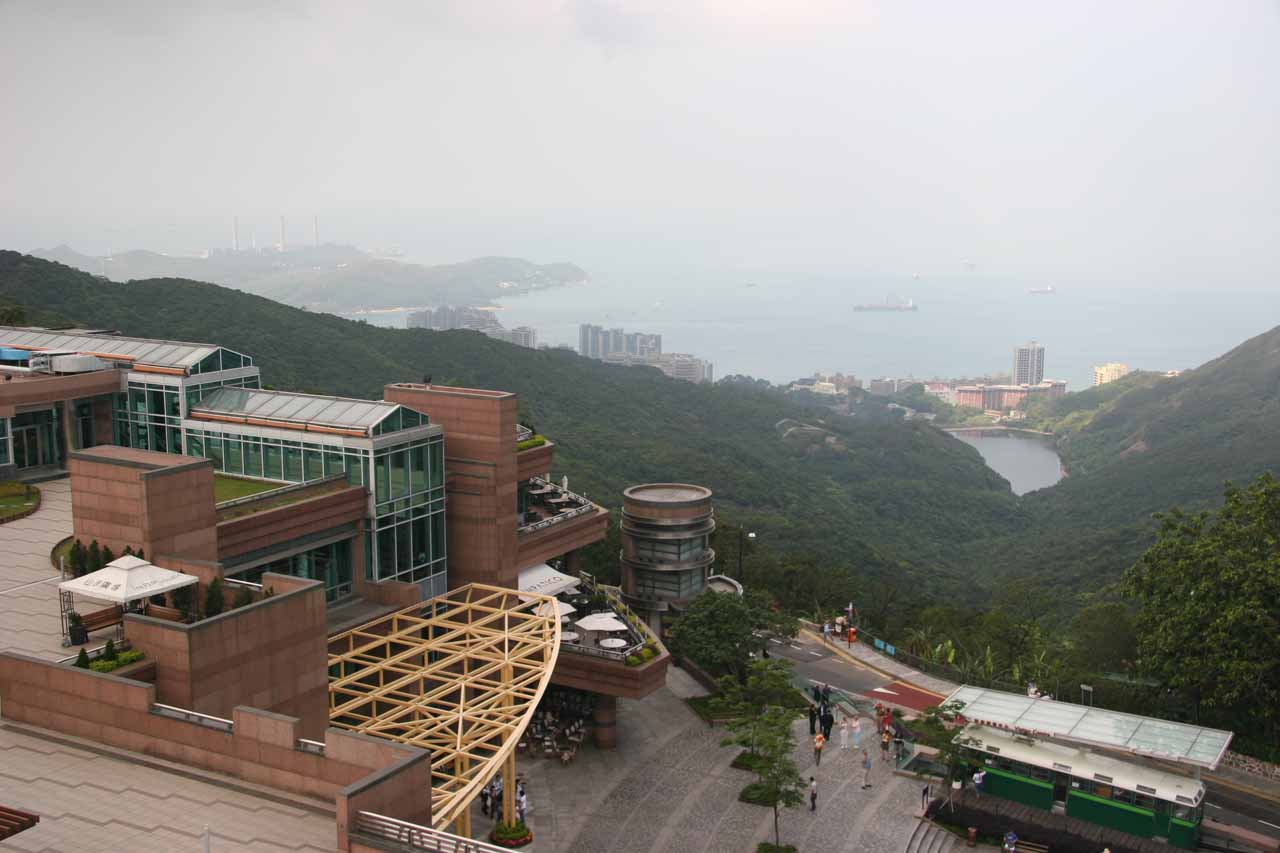 Looking out the quieter side of Victoria Peak