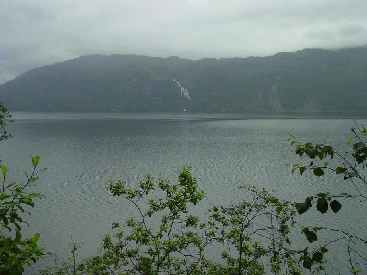 Contextual view looking across Saudafjorden towards what I think is Maldalsfossen