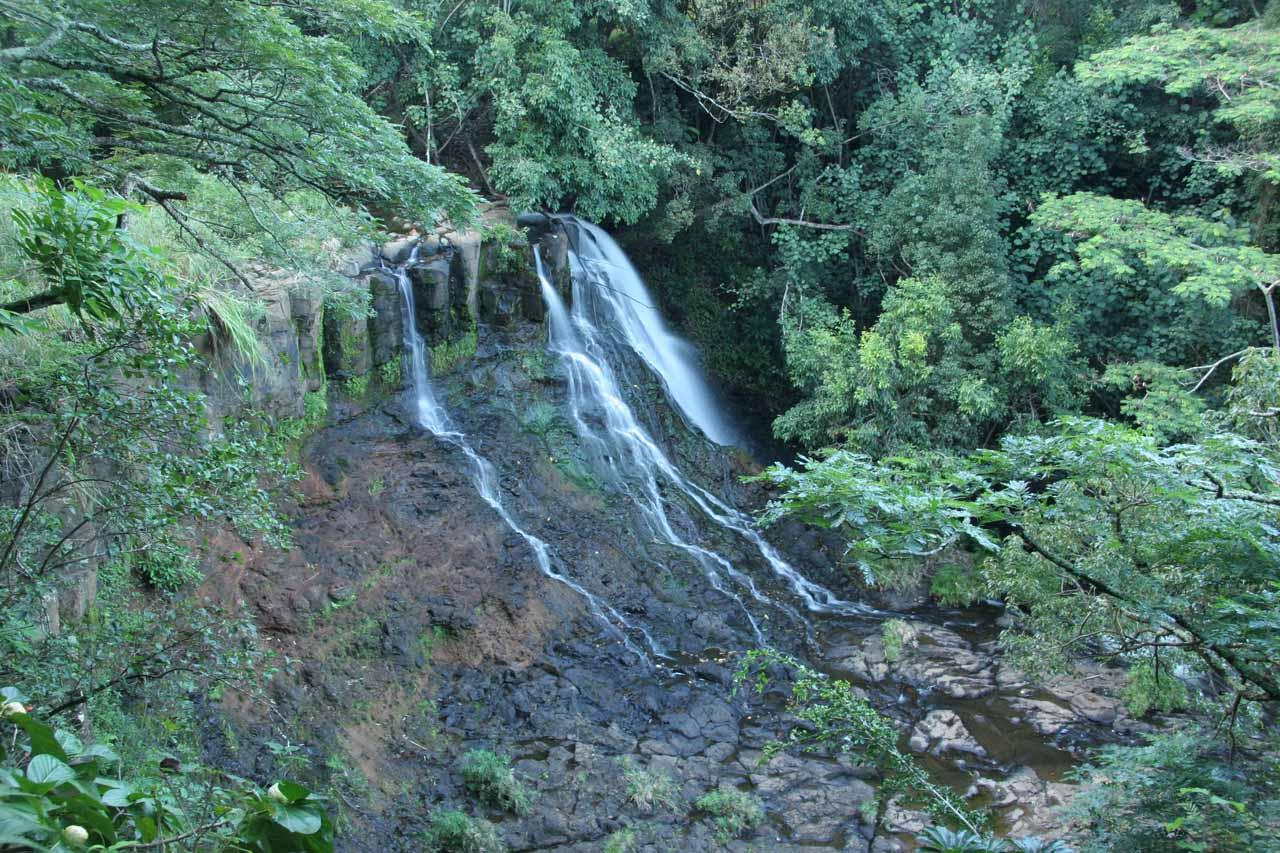 The Lower Ho'opi'i Falls