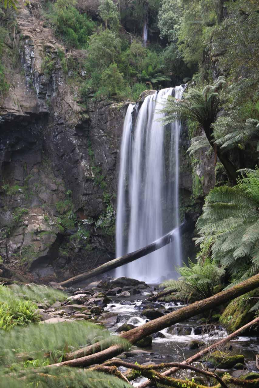 Last look at the pleasing Hopetoun Falls before we headed back up