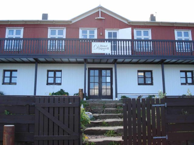 Hotel_Djupavik_010_jx_06252007 - The front of the Hotel Djupavik, which was called the 'loneliest hotel in Europe'