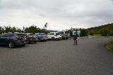Hraunfossar_001_08182021 - Made it to the fairly busy car park for Hraunfossar