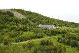 Hraunfossar_091_08182021 - Looking back at the context of the cantina near the car park for Hraunfossar