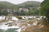 Huangguoshu_010_04252009 - Zoomed in look at part of the cascades upstream of the Huangguoshu Waterfall