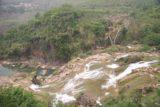 Huangguoshu_015_04252009 - Profile view of what appeared to be Huangguoshu Waterfall or something near it