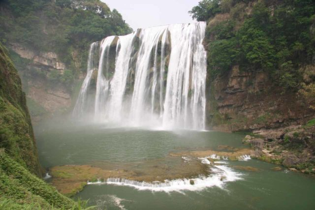 Huangguoshu_083_04252009 - Nearby the Doupotang Waterfall is the famous Huangguoshu Waterfall
