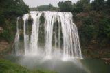 Huangguoshu_088_04252009 - Faint rainbow across the falls
