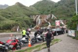 Huangjin_Waterfall_001_11022016 - The impressive Huangjin Waterfall with a motorcycle gang having just arrived