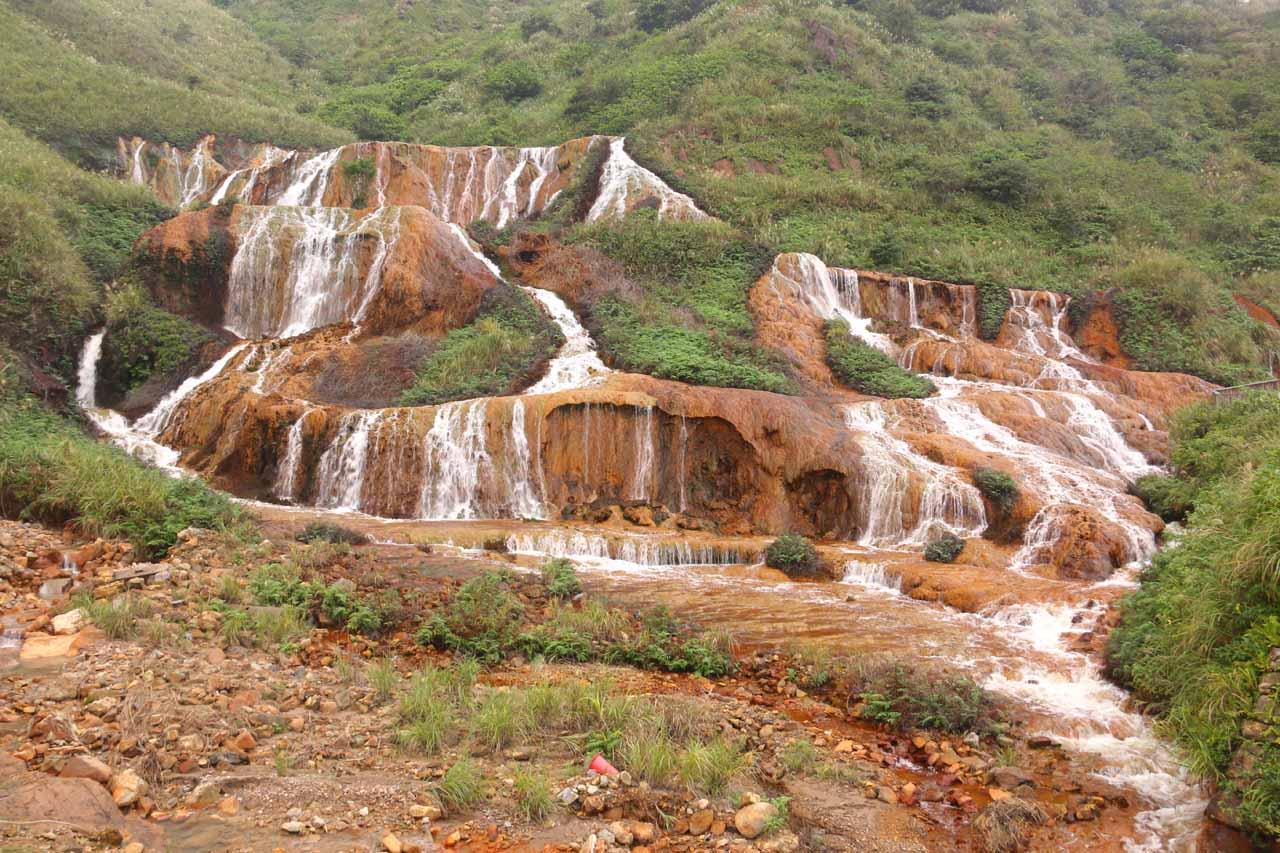 The Huangjin Waterfall or Golden Waterfall