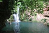 Huesna_021_05242015 - The partial view of the main Cascada del Hueznar