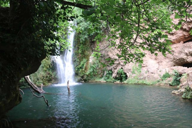 Huesna_021_05242015 - Partial view of the first of the Cascadas de Huesna waterfalls