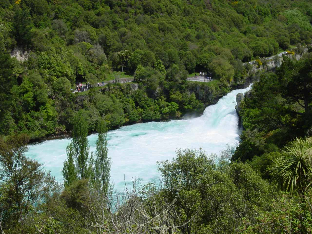 An alternate view of Huka Falls
