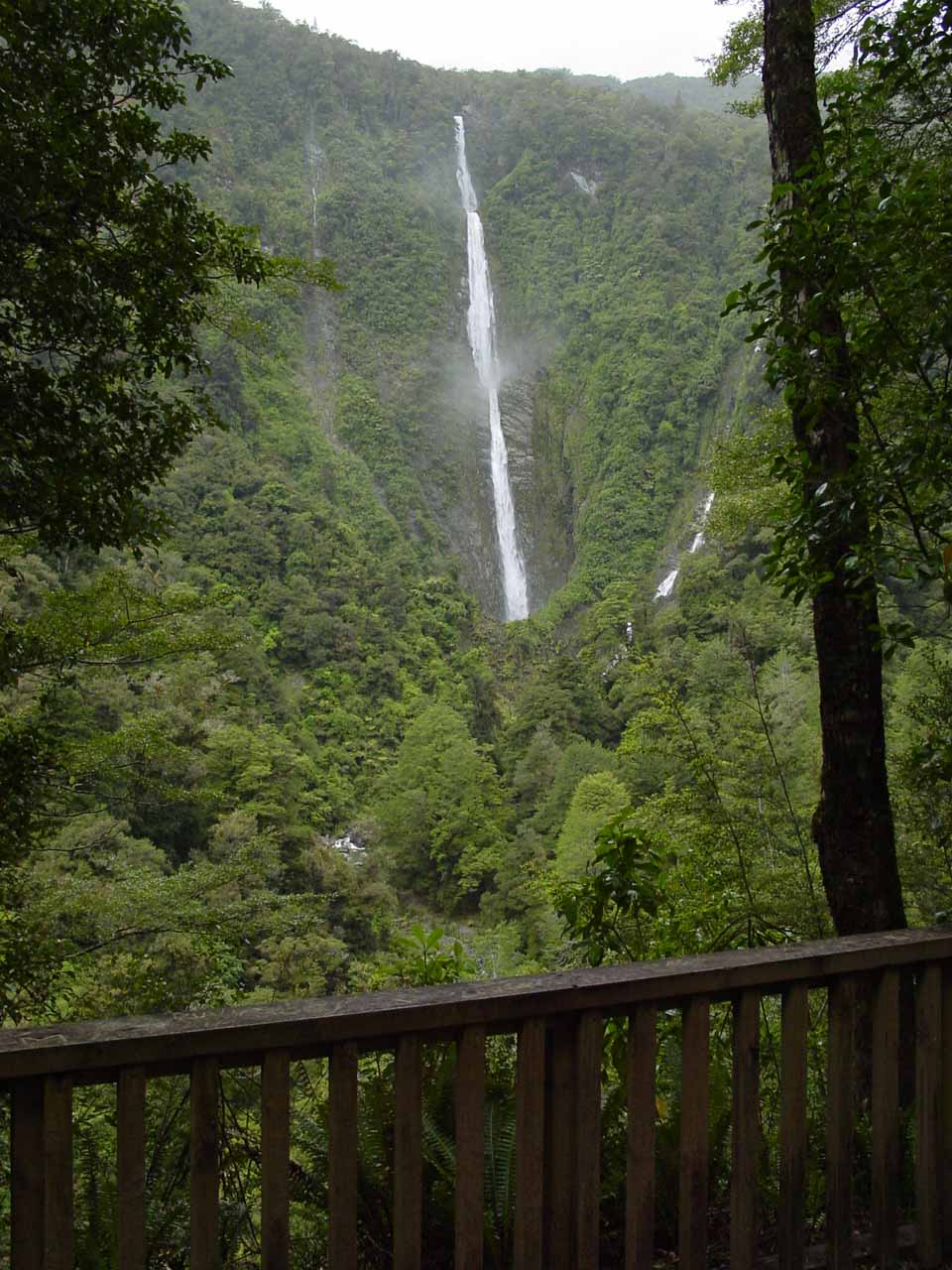 The lookout at Humboldt Falls