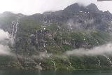 Hurtigruten_day2_252_06302019 - The flip side of bad weather in Geirangerfjorden was that waterfalls were coming down the mountains like veins