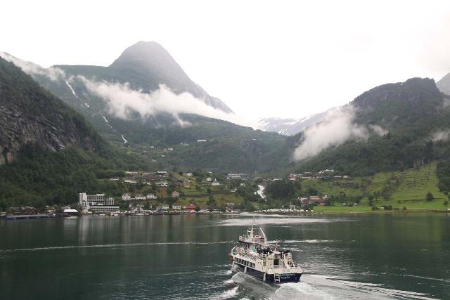 We also toured the Geirangerfjord while cruising on the Hurtigruten, where some passengers paid to get off at Geiranger then resume the long voyage at a different port